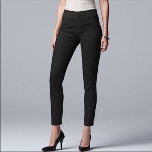 Black Skinny Jeans Pull on Jeggings Jean leggings